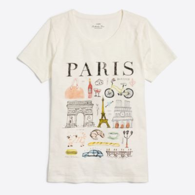 Paris collector T-shirt   search