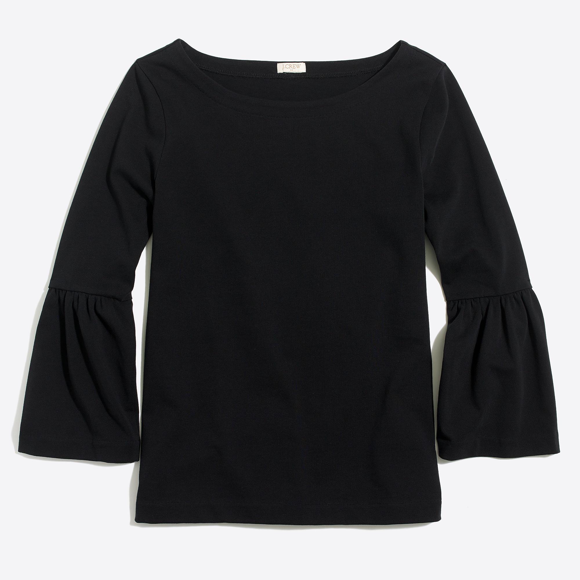 Bell Sleeve T Shirt Factorywomen Long Sleeve Factory