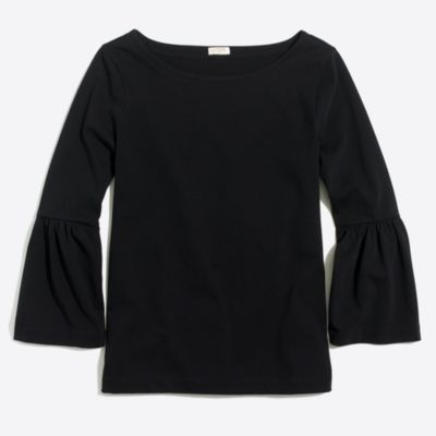 Bell-sleeve T-shirt   search