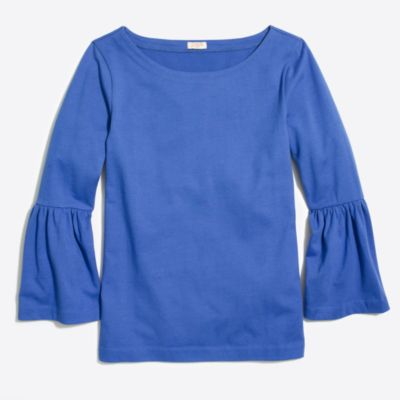 Bell-sleeve T-shirt