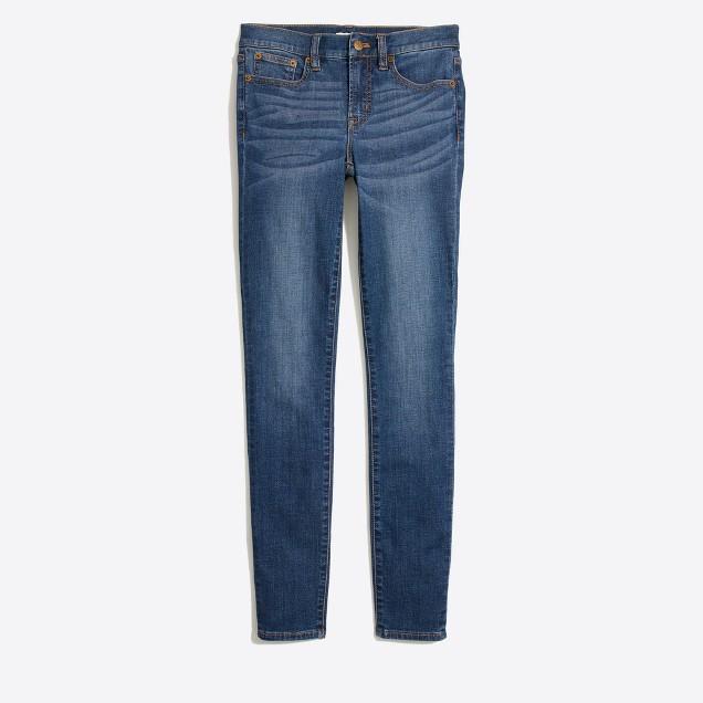 "Rockaway wash skinny jean with 30"" inseam"