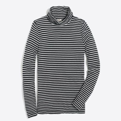 Striped tissue turtleneck   sale
