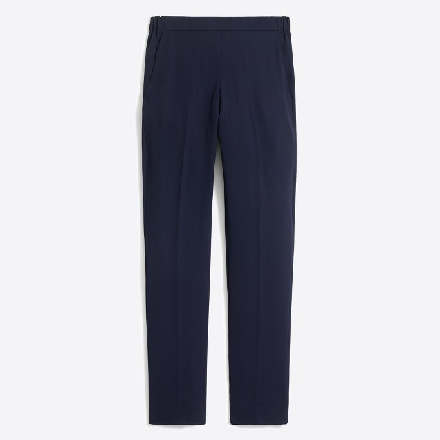 Drapey pull-on pant