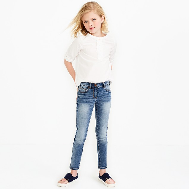 Girls' anywhere jean in selby wash