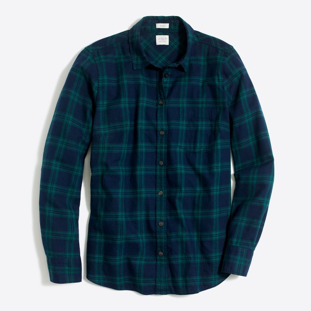 Petite flannel shirt