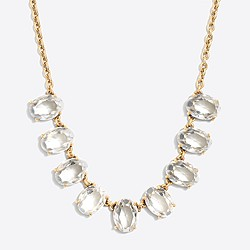 Crystal ovals necklace