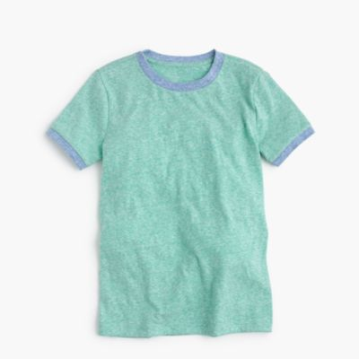 Boys' contrast ringer t-shirt factoryboys knits & t-shirts c