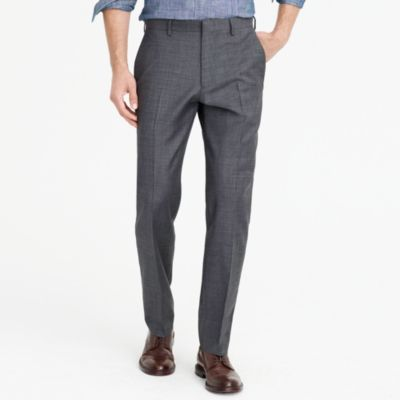 Classic-fit Thompson suit pant in worsted wool factorymen thompson suits & blazers c