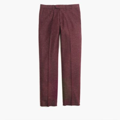 Flecked Bedford dress pant