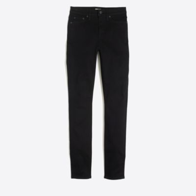 "Black high-rise skinny jean with 29"" inseam factorywomen pants c"