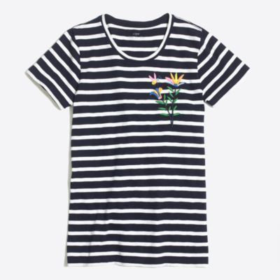 Embroidered bumble collector T-shirt   sale