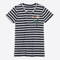 Embroidered bumble collector T-shirt