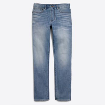 Stretch Bleecker jean in So Cal wash factorymen flex collection c