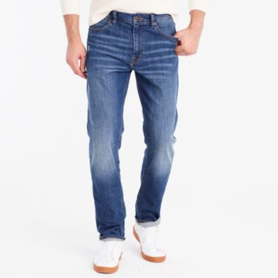 Stretch Bleecker jean in Austin wash factorymen flex collection c