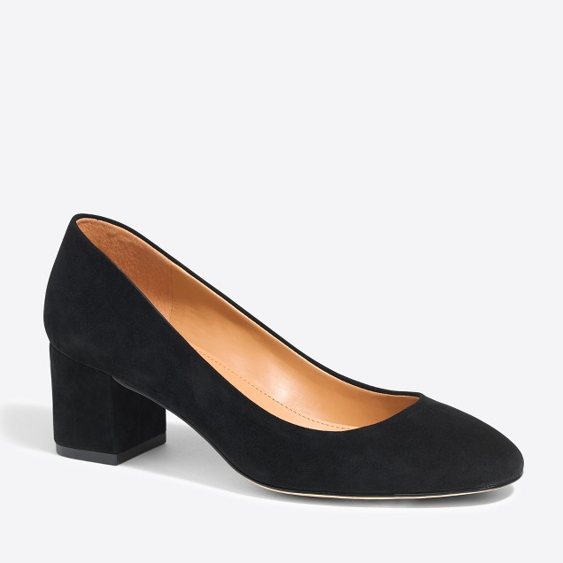 Bryn suede block heels