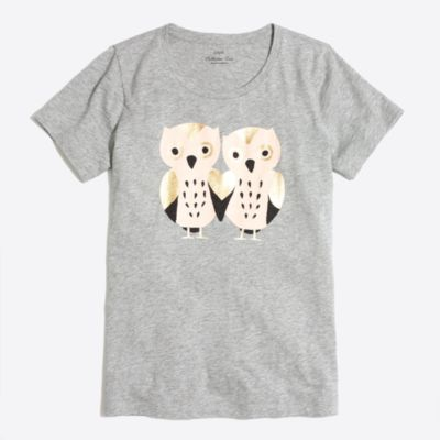 Two owls collector T-shirt   sale
