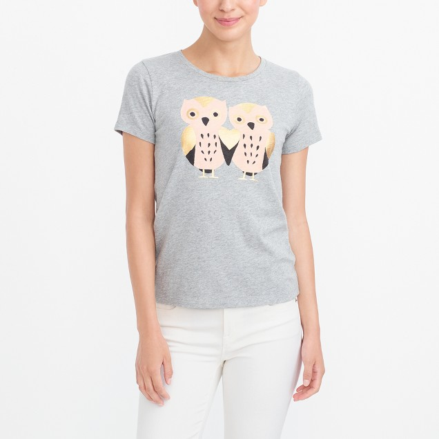 Two owls collector T-shirt
