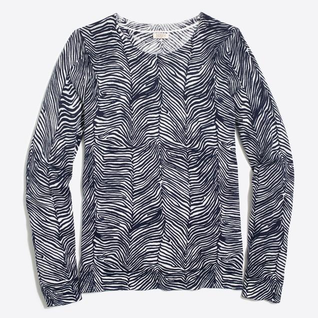 Zebra Teddie sweater