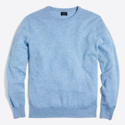Cashmere crewneck sweater