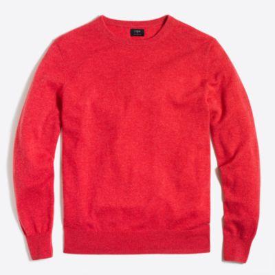 Cashmere crewneck sweater   sale