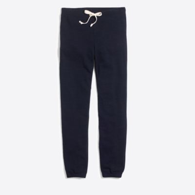 Piece-dyed slouchy sweatpant   sale