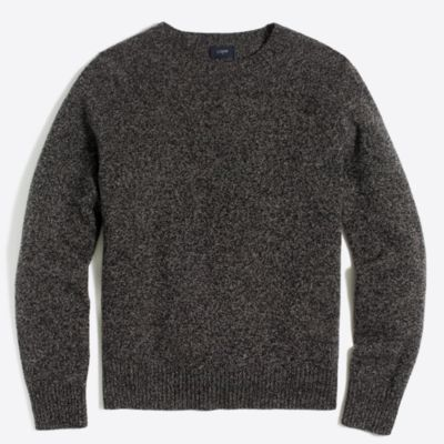 Lambswool crewneck sweater