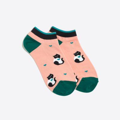 Cat love ankle socks
