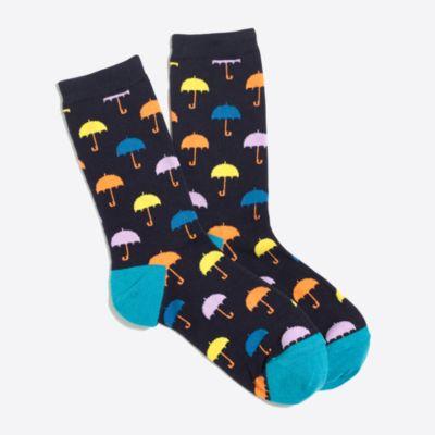 Umbrella trouser socks