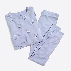 Girls' kitty pajama set
