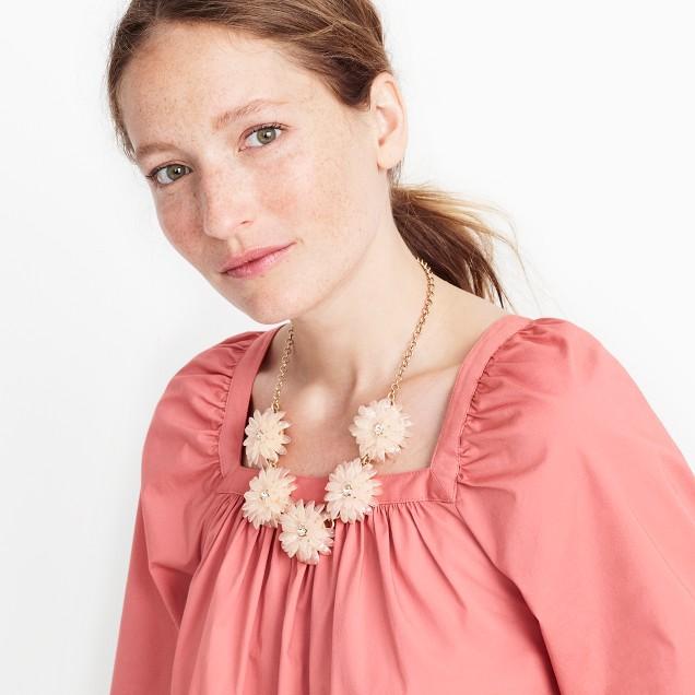 Dahlia burst necklace