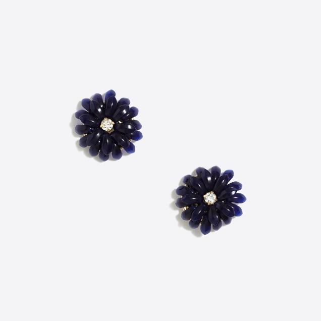 Dahlia burst earrings