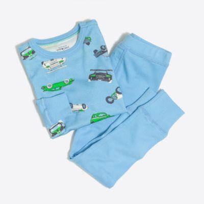 Boys' cars pajama set