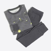 Boys' planets pajama set