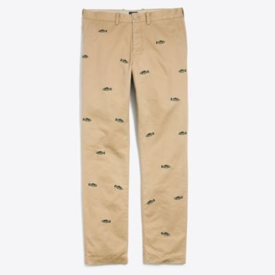 Sutton straight-fit embroidered broken-in chino factorymen new arrivals c