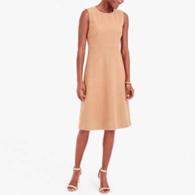 A-Line Wool Dress