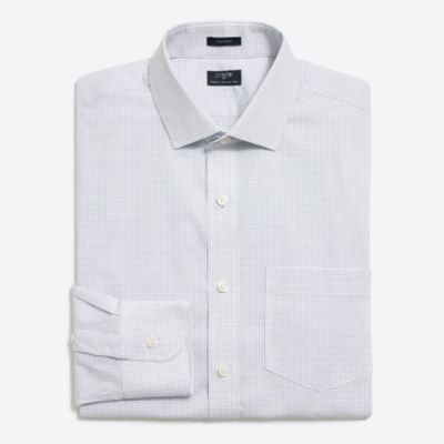 Mini tattersall flex wrinkle-free Voyager dress shirt factorymen new arrivals c