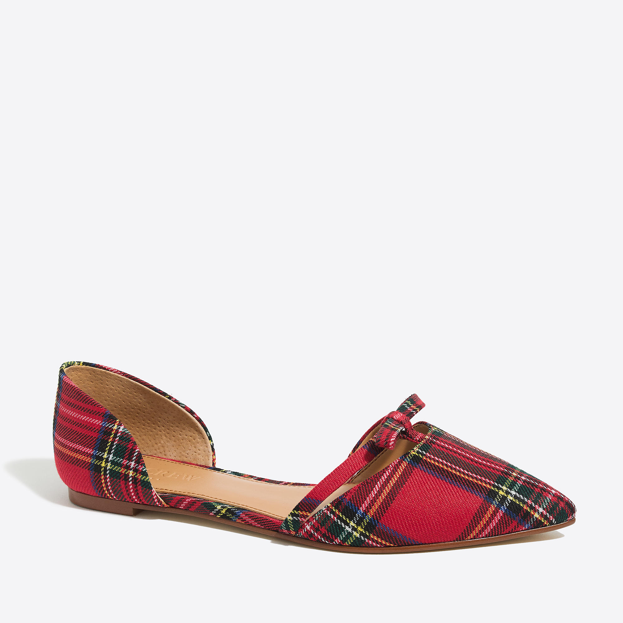 Red D Orsay Shoes