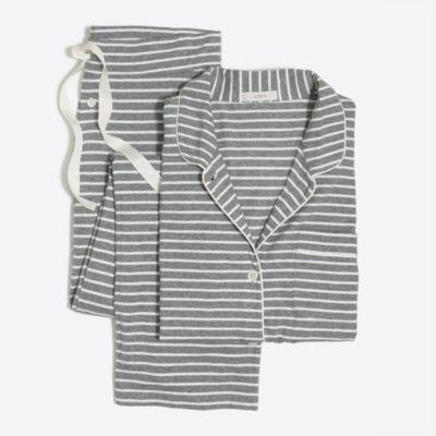 Cotton knit sleep set