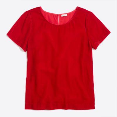 Velvet T-shirt   search