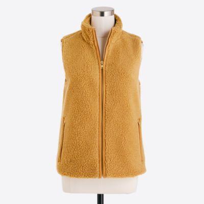 Fleece vest   search