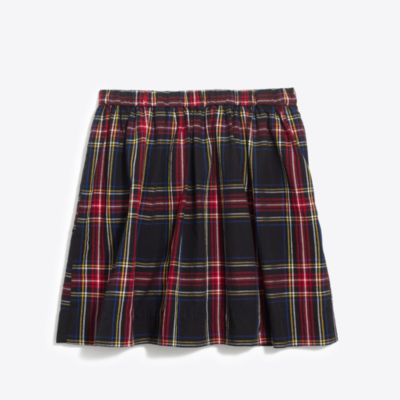 Girls' Stewart tartan plaid skirt