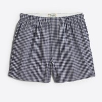 Navy gingham boxers
