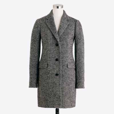 Tweed topcoat   search