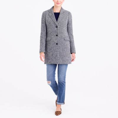 Tweed topcoat
