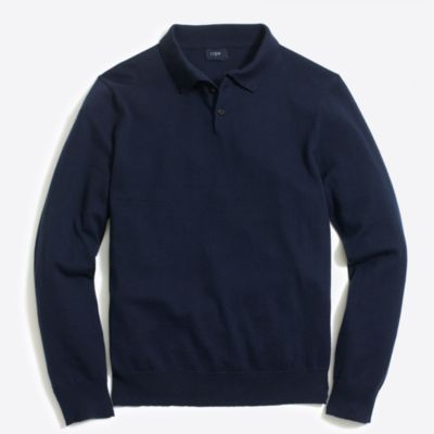 Harbor cotton polo sweater factorymen sweaters c