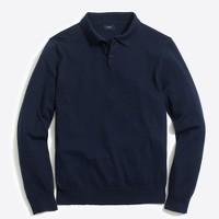 Harbor cotton polo sweater