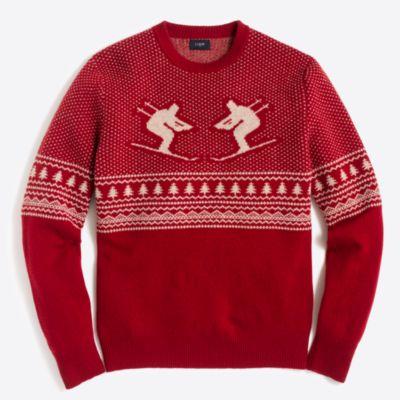 Skier fair isle sweater : FactoryMen Lambswool | Factory