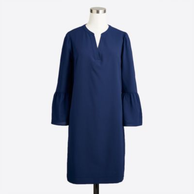Bell-sleeve dress