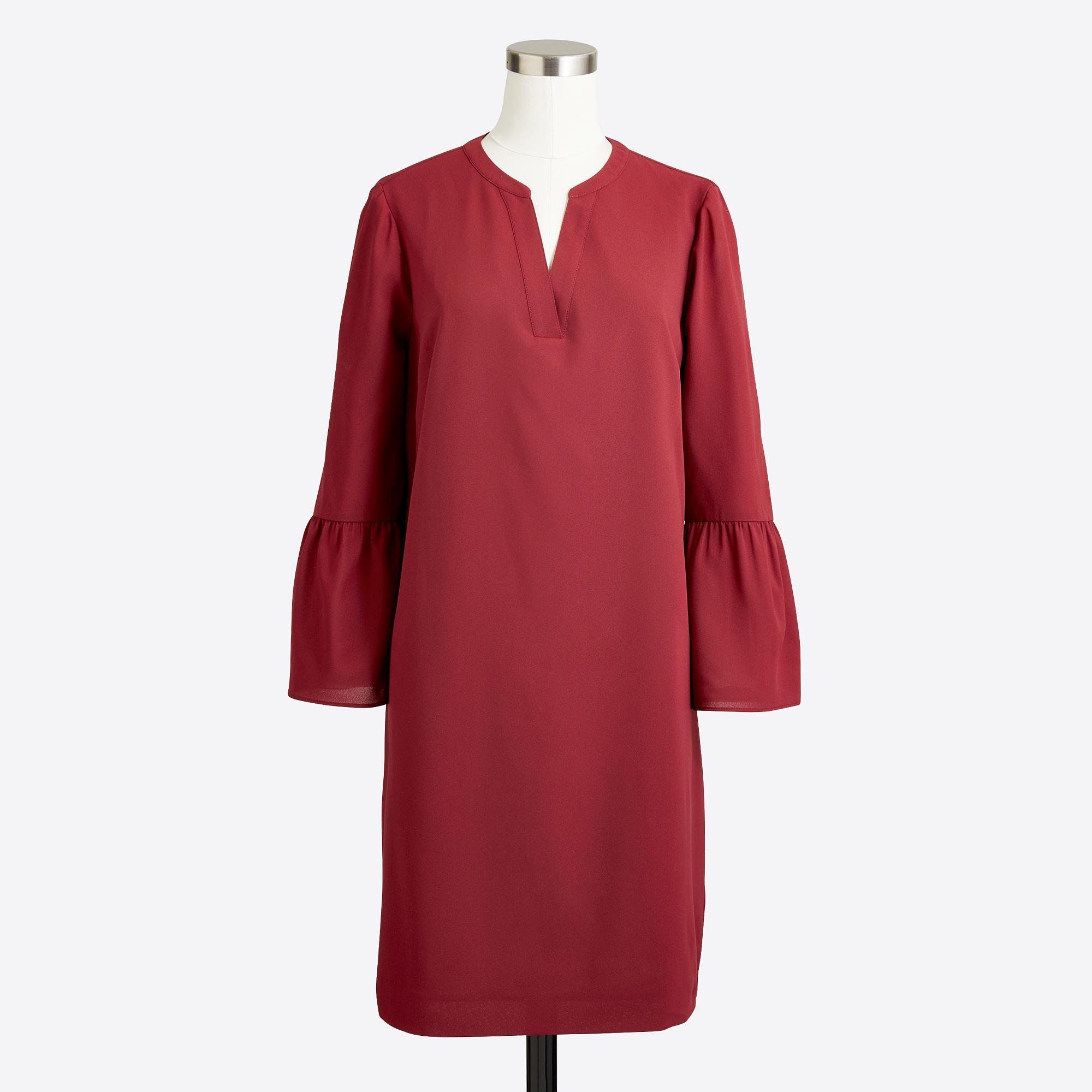 Bell-sleeve Dress : FactoryWomen Dresses