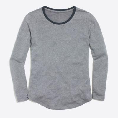 Supercomfy long-sleeve crewneck T-shirt   search
